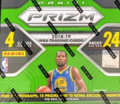 2018-19 Panini Prizm NBA Basketball Retail Box