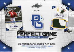 2015 Leaf Perfect Game National Showcase Baseball Box