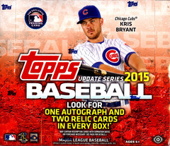 2015 Topps Update Series MLB Baseball Jumbo Box