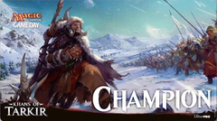 Magic Khans of Tarkir Game Day Champion Playmat