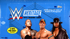 2015 Topps WWE Heritage Wrestling Trading Cards Hobby Box