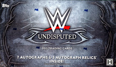 2015 Topps WWE Undisputed Wrestling Trading Cards Hobby Box