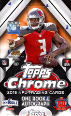 2015 Topps Chrome NFL Football Hobby Box