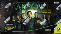 2015 Cryptozoic Arrow Season 2 Trading Cards Hobby Box