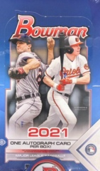 2021 Bowman MLB Baseball Hobby Box