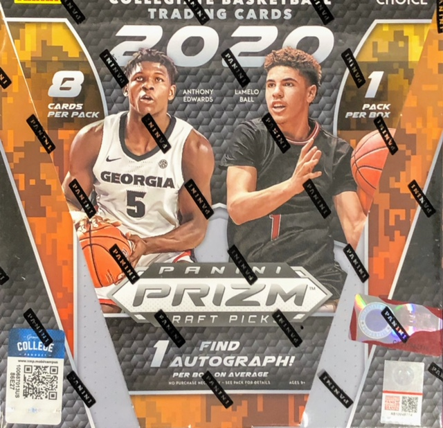 2020-21 Panini Prizm Draft Picks Collegiate Basketball Choice Box