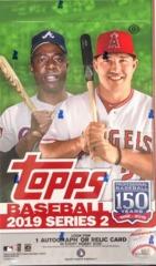 2019 Topps Series 2 MLB Baseball Hobby Box