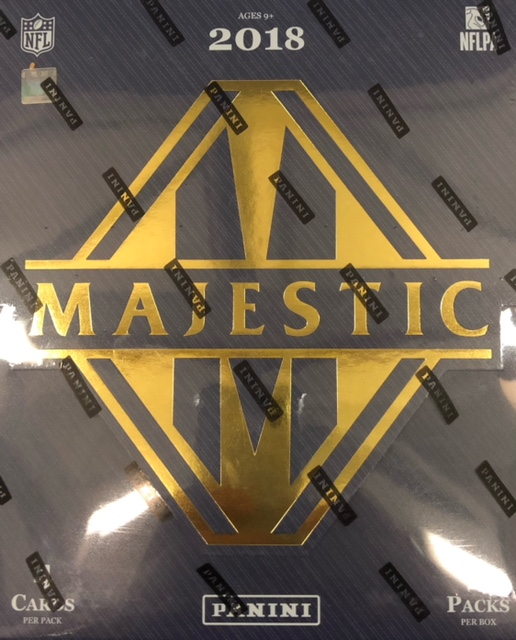 2018 Panini Majestic NFL Football Hobby Box