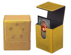 Ultra Pro Magic Mana Flip Box- Gold