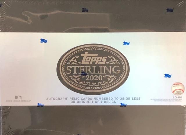 2020 Topps Sterling MLB Baseball Hobby Box