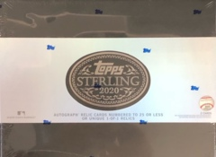 2020 Topps Sterling MLB Baseball Hobby Box