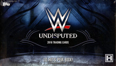 2016 Topps WWE Undisputed Trading Cards Hobby Box