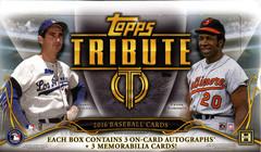 2016 Topps Tribute MLB Baseball Hobby Box