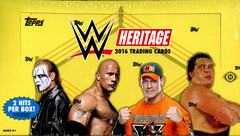 2016 Topps WWE Heritage Wrestling Trading Cards Hobby Box