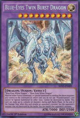 Blue-Eyes Twin Burst Dragon - SHVI-EN099 - Secret Rare - 1st Edition