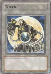 Arcana Force XVIII Moon Token TKN3-EN003