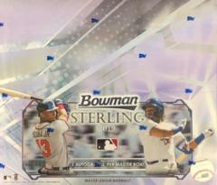 2019 Bowman Sterling MLB Baseball Hobby Master Box