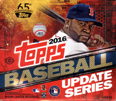 2016 Topps Update Series MLB Baseball Jumbo Box