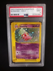 Slowking H22/H32 Aquapolis PSA 9 MINT Pokemon Graded Card