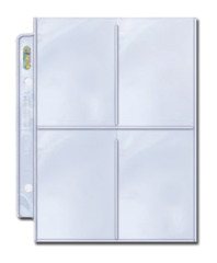 Ultra Pro 4-pocket Platinum Series 2 1/2