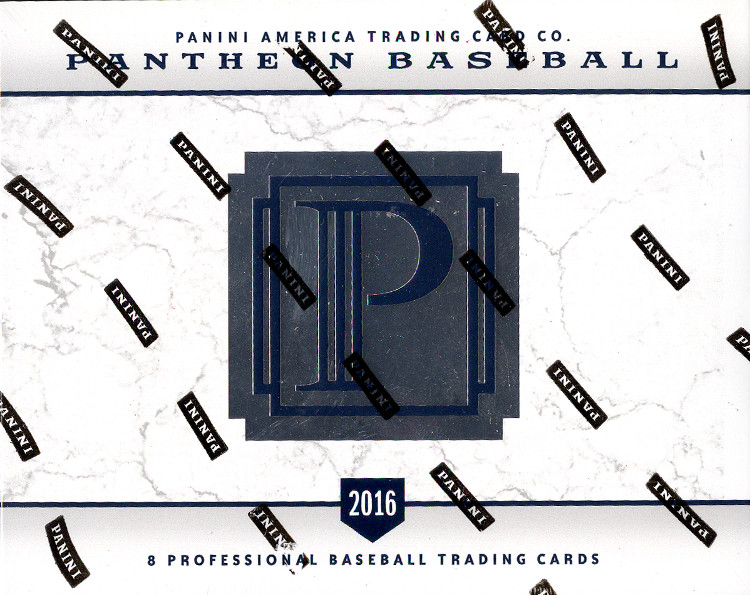 2016 Panini Pantheon Baseball Hobby Box