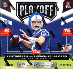 2016 Panini Playoff NFL Football Hobby Box