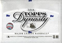 2016 Topps Dynasty MLB Baseball Hobby Box