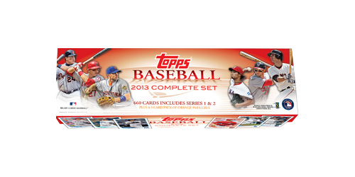 2013 Topps MLB Baseball Factory Sealed Complete Set - Hobby Edition