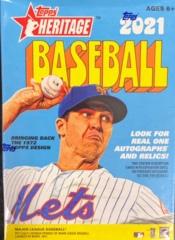 2021 Topps Heritage MLB Baseball Blaster Box