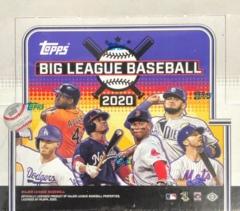 2020 Topps Big League MLB Baseball Hobby Box