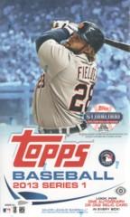 2013 Topps Series 1 MLB Baseball Hobby Box