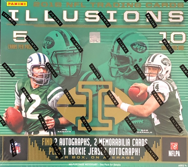 2018 Panini Illusions NFL Football Hobby Box