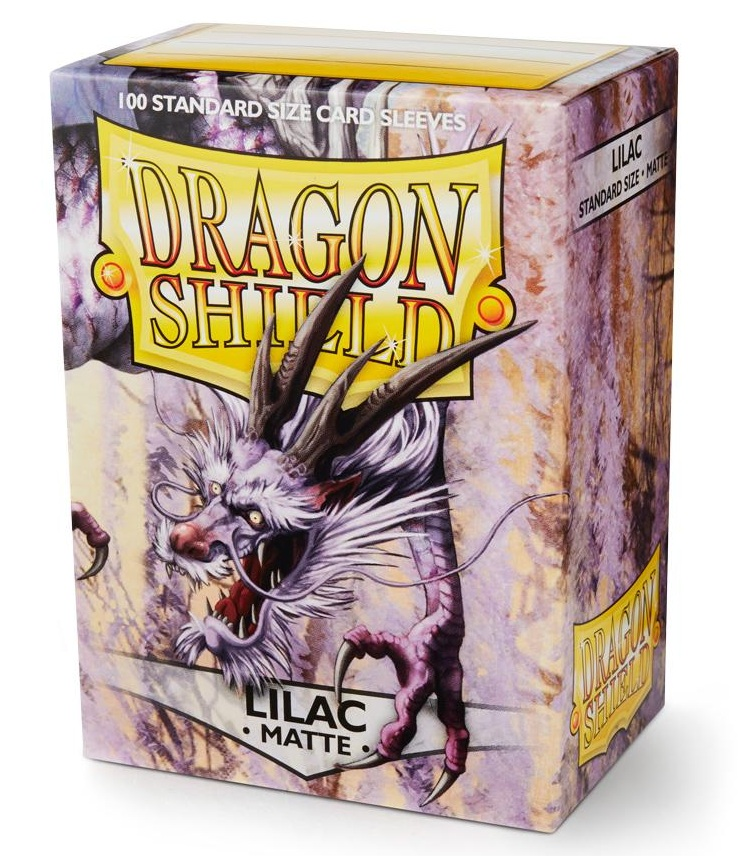 Dragon Shield Sleeves: Matte Lilac (Box Of 100)