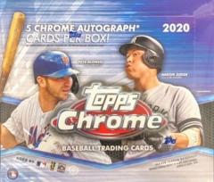 2020 Topps Chrome MLB Baseball Jumbo Box