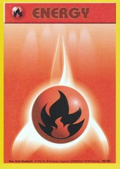 Fire Energy - 98/102 - Common - Unlimited Edition