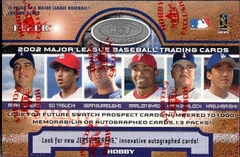 2002 Fleer Hot Prospects MLB Baseball Hobby Box