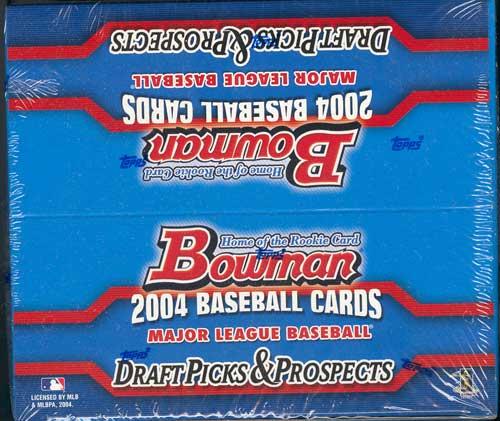 2004 Bowman Draft Picks & Prospects MLB Baseball Retail Box