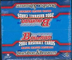 2004 Bowman Draft Picks & Prospects MLB Baseball Retail Box