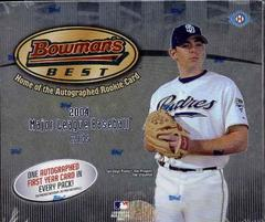 2004 Bowman's Best MLB Baseball Hobby box