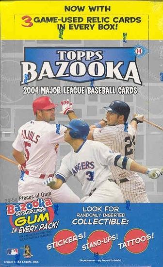 2004 Topps Bazooka MLB Baseball Hobby Box