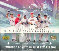 2006 Upper Deck Future Stars MLB Baseball Hobby Box