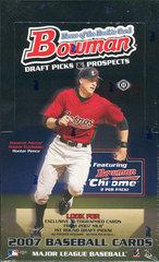 2007 Bowman Draft Picks & Prospects MLB Baseball Hobby Box