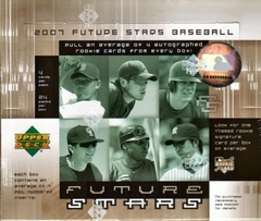 2007 Upper Deck Future Stars MLB Baseball Hobby Box