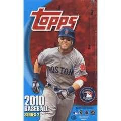 2010 Topps Series 2 MLB Baseball Hobby Box