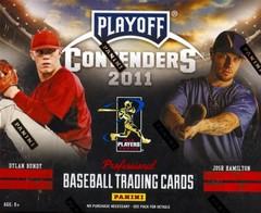 2011 Panini Contenders Baseball Box