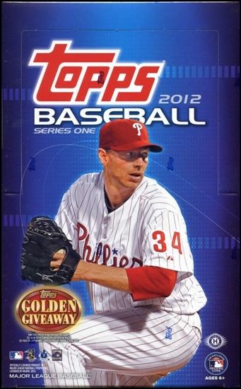 2012 Topps Series 1 MLB Baseball Hobby box