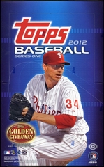 2012 Topps Series 1 MLB Baseball Hobby box