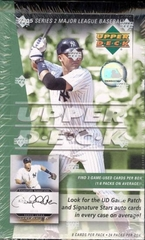 2005 Upper Deck Series 2 MLB Baseball Hobby Box