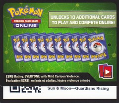 Guardians Rising - Unused Booster Pack TCGO Code Card
