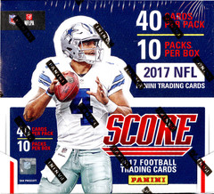 2017 Score NFL Football Jumbo Box